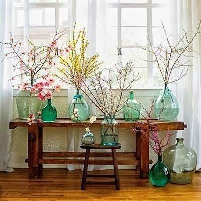 17 mejores ideas sobre jarrones antiguos en pinterest for Decorar patios grandes