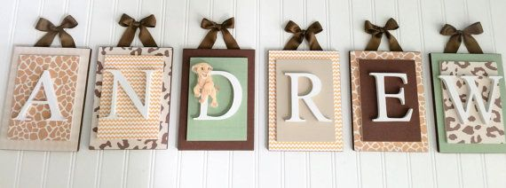 Nursery lettersLion King Inspired Nursery by LoveyLettersbyLeah