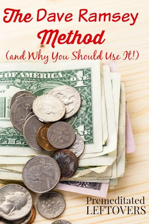 Why You Should Use the Dave Ramsey Method