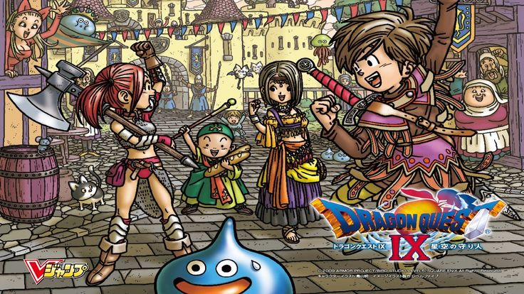dragon quest ix sentinels of the starry skies picture - Full HD Wallpapers, Photos, 1280x720 (435 kB)