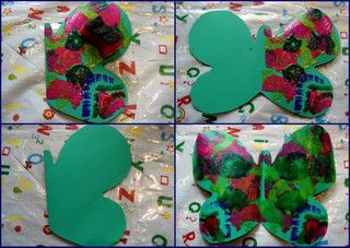 The Very Hungry Caterpillar butterfly craft ideas by Cathy @ Nurturestore.co.uk, via Flickr
