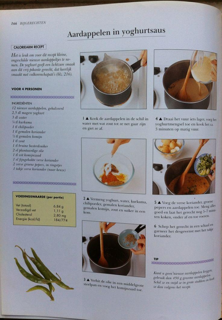 Bijgerecht - recept aardappelen in yoghurtsaus