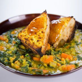 Daphne Oz's Red Lentil Sweet Potato Stew @ The Chew