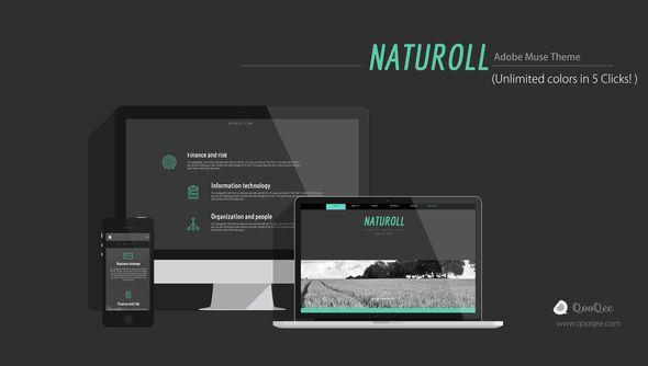 Naturoll | Muse Theme - Creative Muse Templates