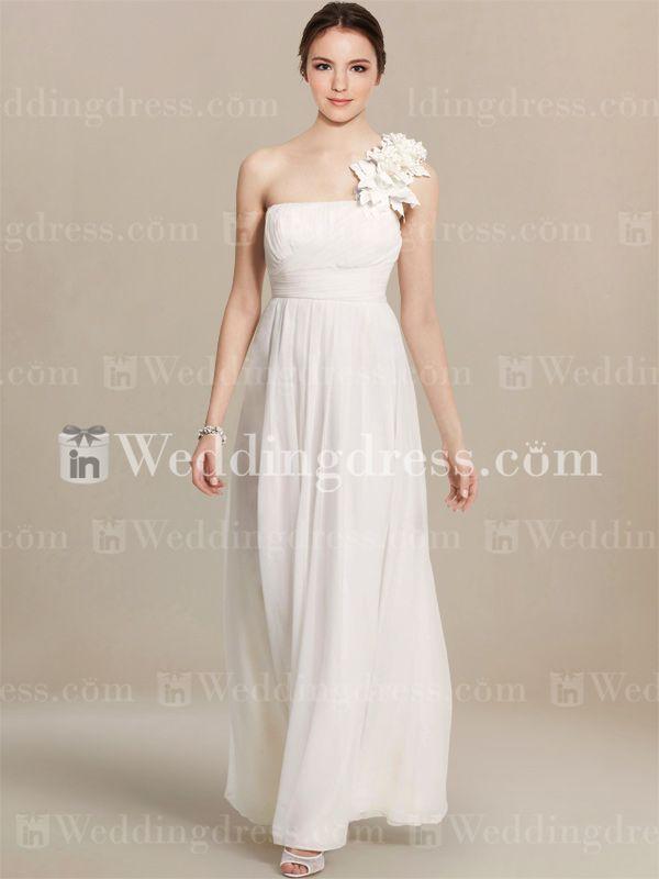 Great Casual Beach Wedding Dress BC