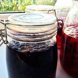 Likier z czarnej porzeczki – Crème de cassis
