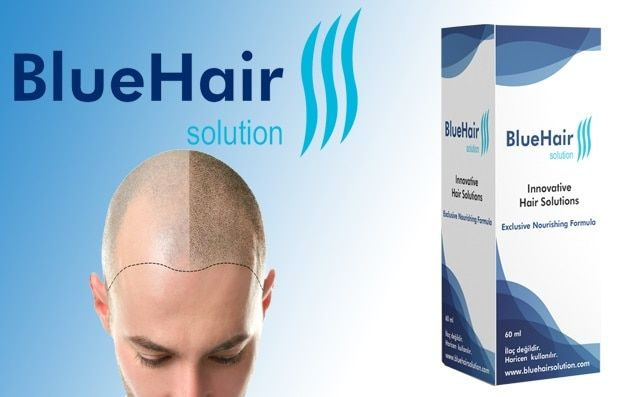 Blue Hair Solution Panosundaki Pin