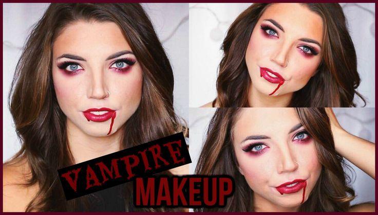 #halloween #simple #tutorial #vampire #easy #cheap #costume