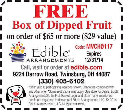 Edible Arrangements Coupon  Twinsburg, Ohio