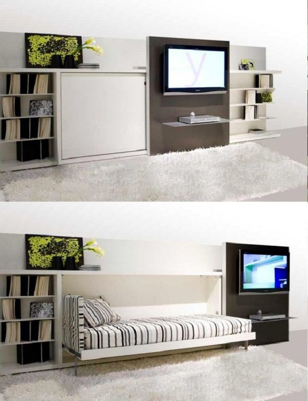 space saving bedroom - Google Search