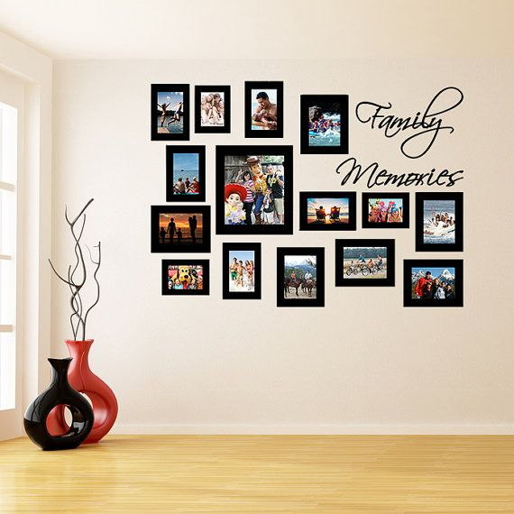 wall frame sticker picture frames stickers photo vinyl on wall frames id=80983