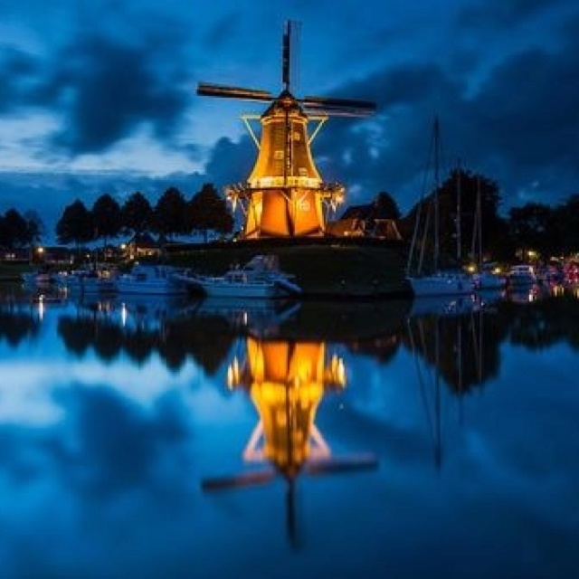 The Watchtower, Windmill the Hope, Dokkum, The Netherlands