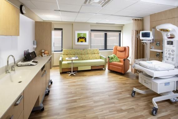 This Private Special Care Nursery Patient Room Is Zoned