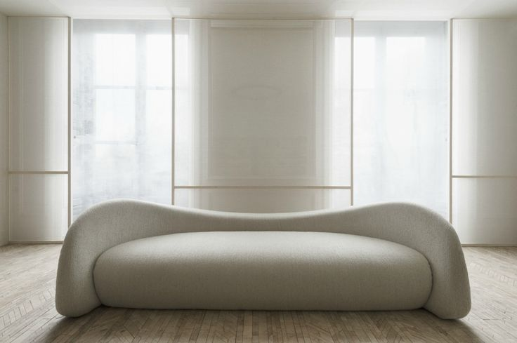 Moon Sofa by Raphael Navot for Domeau & Peres   Photo by Vincent Leroux