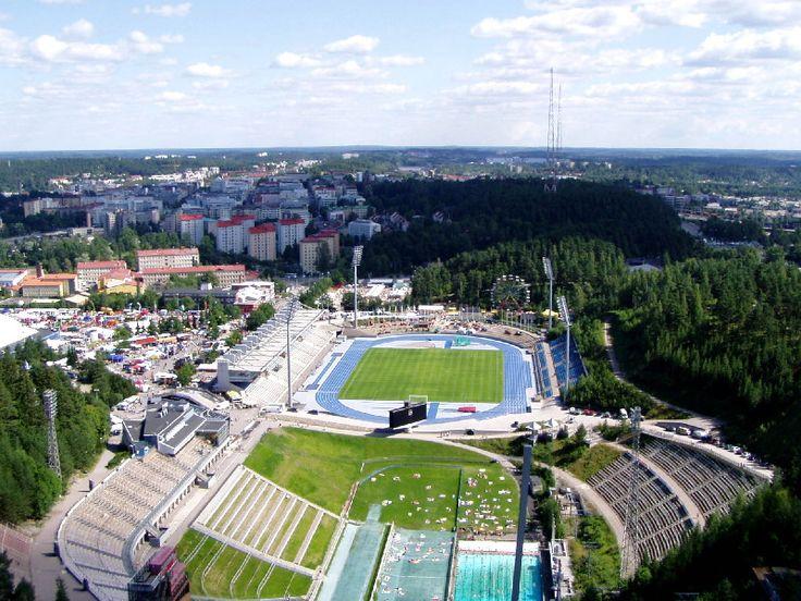 Lahti, Finland. Dear home town :)