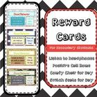 Did you like Reward Cards for High School Students #1?  But maybe you didn't like how you had to add all your information before using it? With thi...