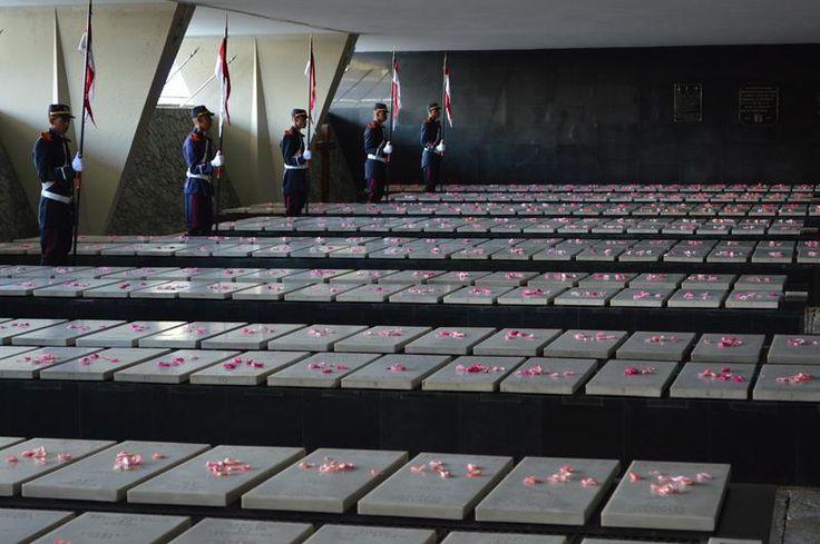 Realizou-se em 1º de novembro o culto inter-religioso em homenagem às vítimas brasileiras na 2ª Guerra Mundial, no Monumento aos Pracinhas, Rio de Janeiro.