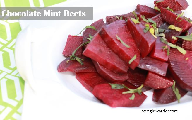Yep, chocolate mint beets!