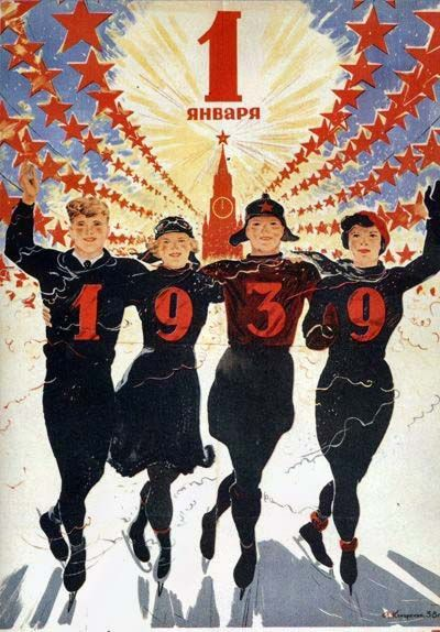 1 de janeiro de 1939 feliz ano Novo!