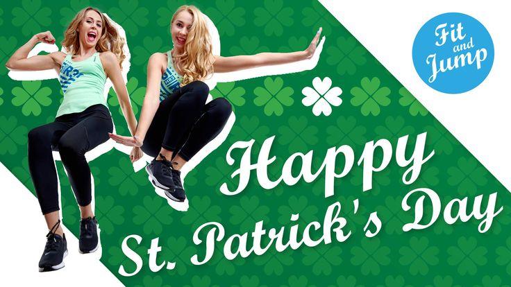 Dziś nasz punkt w Irlandii świętuje dzień Świętego Patryka! :D #Irlandia #swietyPatryk #fitandjump #fitnessnatrampolinach