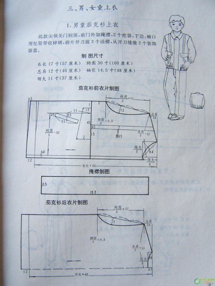 [Зарезервировано] Циндао Детская одежда резки шаблон, весь длинный пас книги