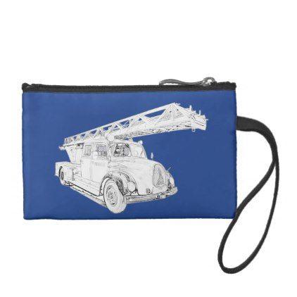 Fire-brigade allotting pro rata ashes change purse - accessories accessory gift idea stylish unique custom