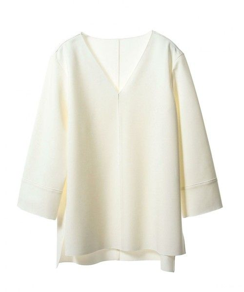 UNITED ARROWS WOMENS(ユナイテッドアローズウィメンズ )のASTRAET(アストラット) Vネックプルオーバー(Tシャツ/カットソー)|ホワイト