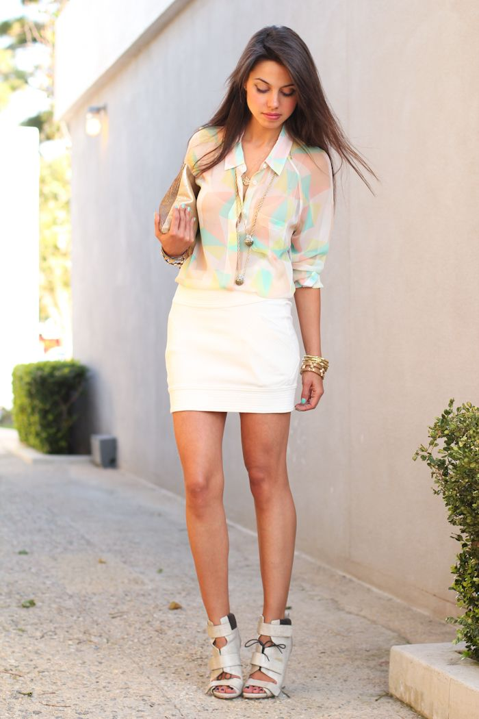 los angeles.Fashion Outfit, Pastel, Dates Night Outfit, Summer Outfit, Style, Ankle Boots, Cute Outfit, Alexander Wang, Spring Outfit