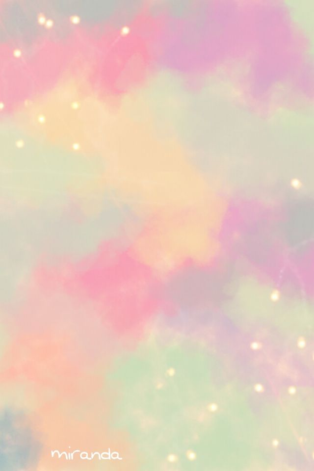 pretty backgrounds iphone colorful cloudy sky to light up your watercolor 12804