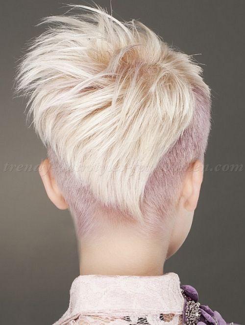 short undercut hairstyles for women - undercut hairstyle