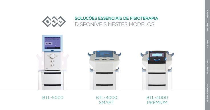 Veja quais as opções de combinação que tem com as unidades combinadas BTL-5000! Quais as terapias que COMBINA E COMO? Diga-nos!