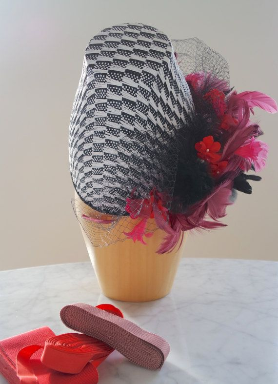 Derby hat Wedding hat Mother of the bride by PapillonsDeLeticia