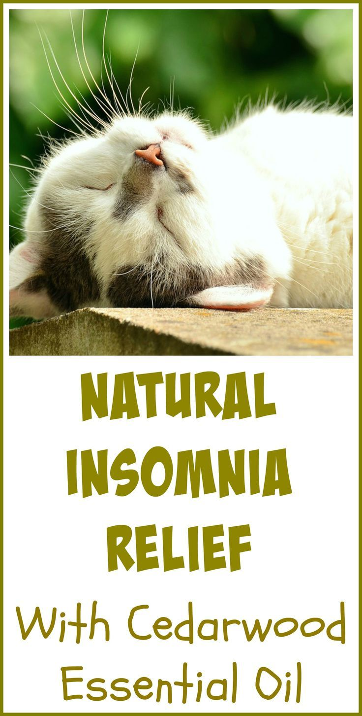 Cedarwood essential oil is one of the natural remedies I use to fight my chronic insomnia. I love using essential oils for sleep and I use them every night to help me rest.