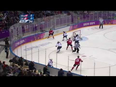What an amazing goal! Jamie Benn scores the only goal to lead Canada over U.S. in men's hockey semifinal - Sochi 2014 Olympics! Time to fight for gold!