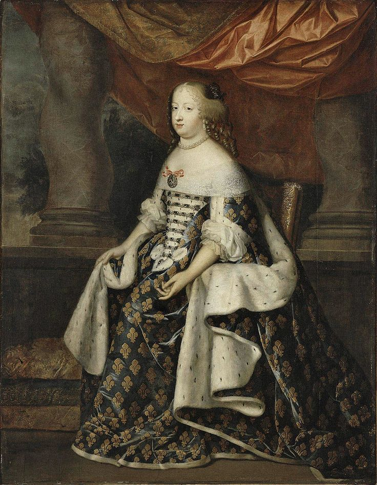 Portrait of Maria Theresa of Spain (1638-1683) as Queen of France