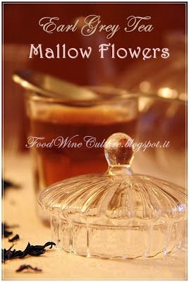 Earl Grey Black Tea and Mallow Flowers