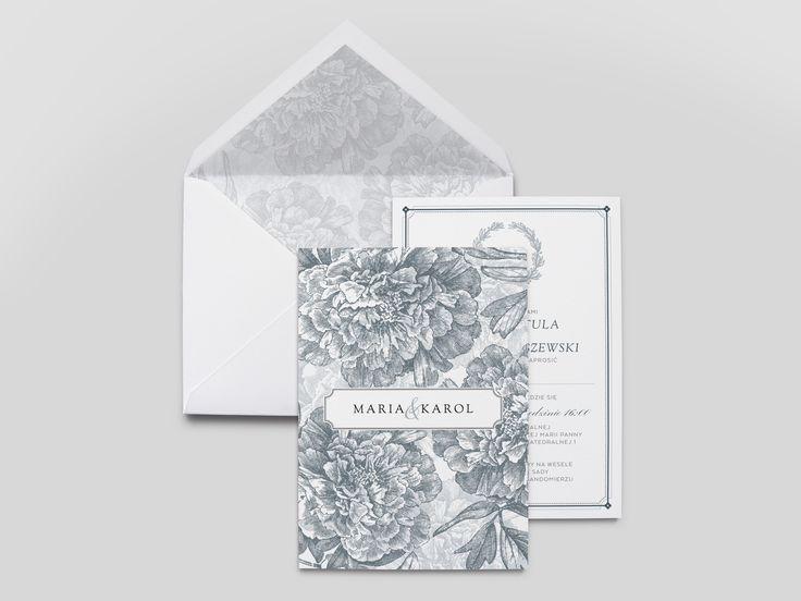 Zaproszenia ślubne / wedding invitations | Goodlove Studio » Kolekcja:_Peonie