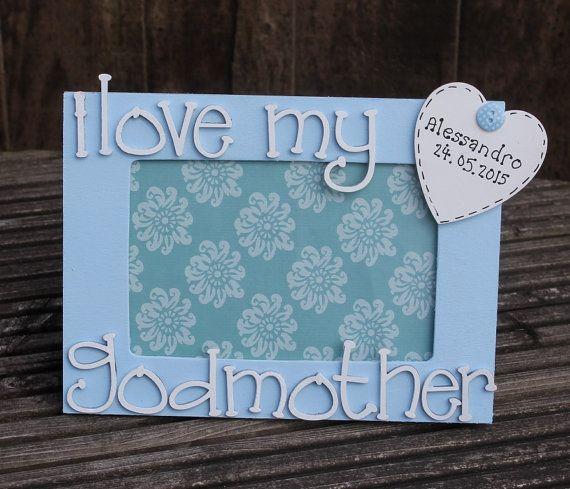 I Love My Godfather godfather picture frame by scratchycat on Etsy