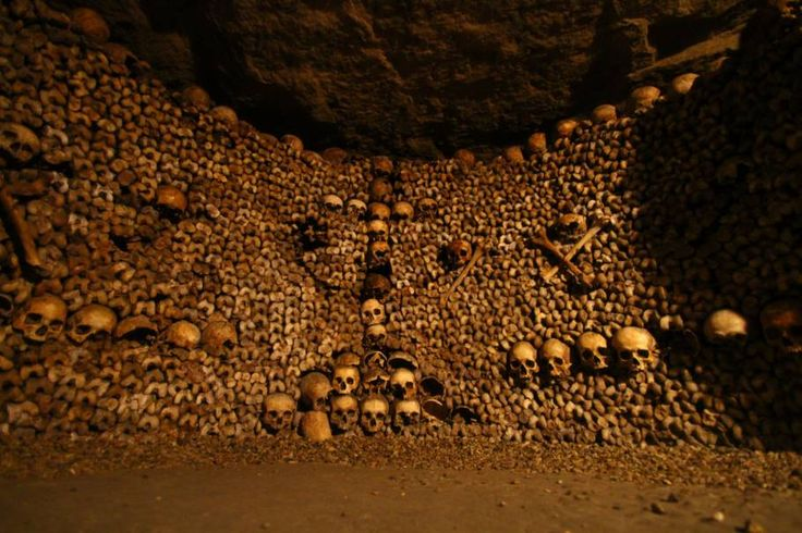 Katakomben von Paris, Frankreich