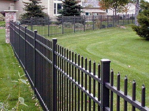 25 Best Ideas About Aluminum Fence On Pinterest