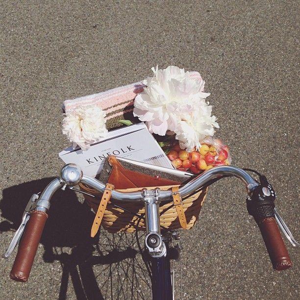 Kinfolk // Magazine // Flower // Bicycle