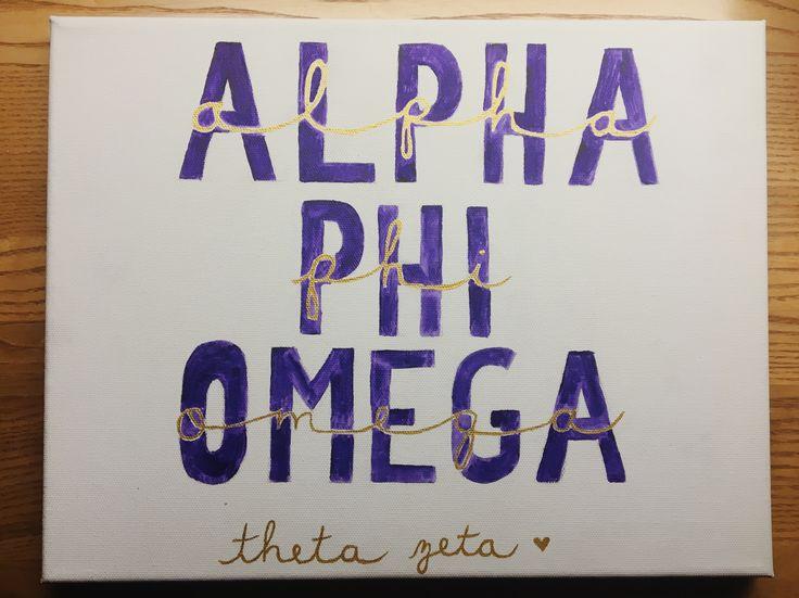 alpha phi omega. theta zeta. by emily perry