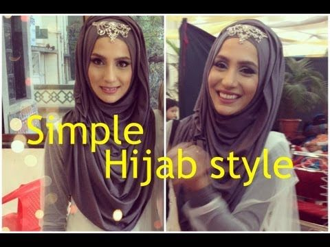 3 MINUTE HIJAB STYLE IN 3 STEPS! FOR SCHOOL, WORK, FORMAL...