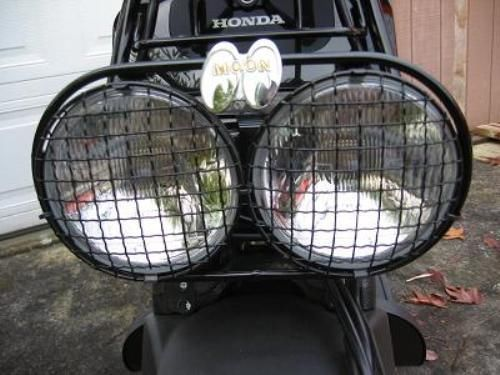 Set Headlight Cover Wire Mesh Honda Ruckus Scooter Zoomer Head Light NPS50 New | eBay