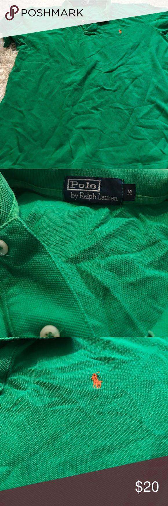 Polo Ralph Lauren mans shirt Green excellent condition short sleeve polo Ralph Lauren shirt Polo by Ralph Lauren Shirts Polos