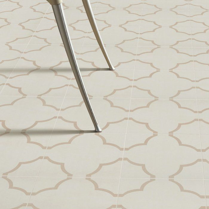 If you are searching for a scored tile with Minimalist encaustic designs, the Cumulus fondant is just right for you. The blend of earthy beige tones in a simple rounded cloud-like design offers a neutral look with a touch of old-world style. This semi-vitreous and easy to clean tile can be used in your shower, kitchen or bathroom floor.