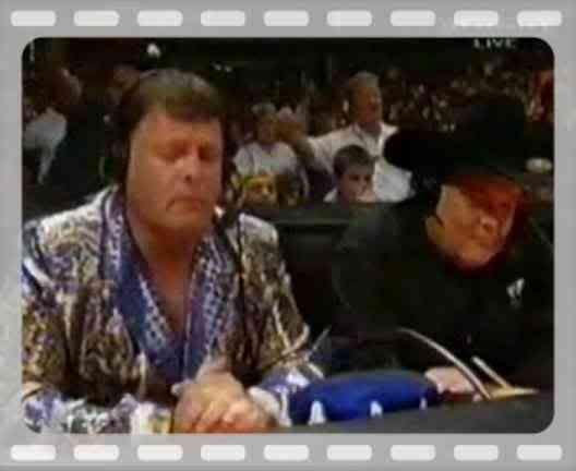 Over the Edge Owen Hart | Jim Ross announces Owen Harts death at Over The Edge 1999 video ...