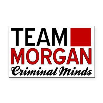Team Morgan Criminal Minds Car Magnet