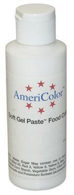 White Cake Decorating Gel : Amazon.com: BRIGHT WHITE SOFT GEL PASTE 6oz. Cake ...