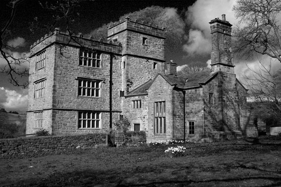 North Lees Hall, Haversage, Derbyshire - Charlotte Bronte's inspiration for Thornfield Hall in Jane Eyre